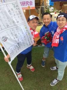 十和田市内の小学校手作りののぼり旗